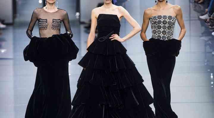 Colecția Giorgio Armani Prive Couture pentru toamna 2016