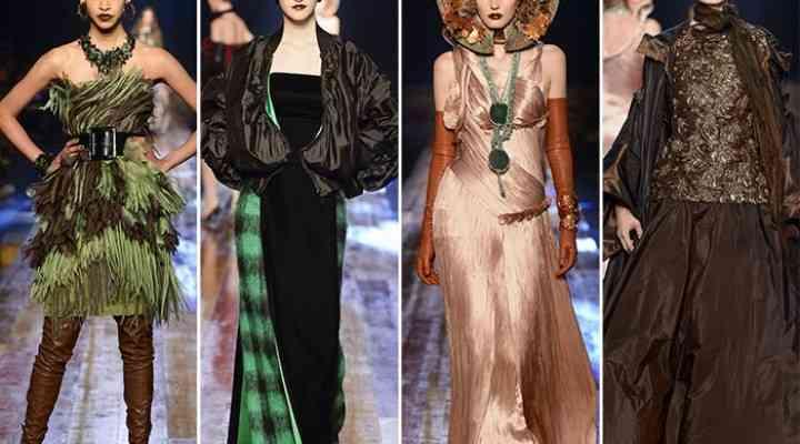 Colecția Jean Paul Gaultier Couture pentru toamna 2016 de la Paris