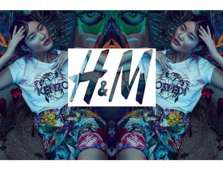 Colecția Kenzo x H&M toamna 2016