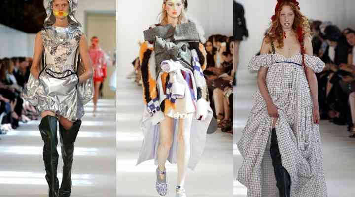 Colecția couture Maison Margiela toamna / iarna 2016-17