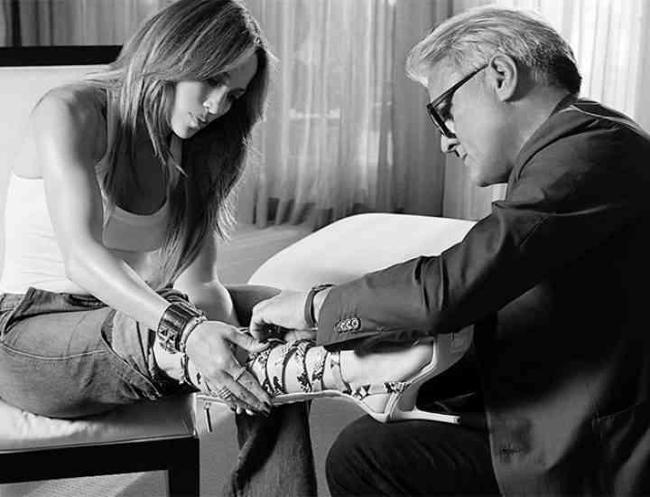 Jennifer Lopez și Giuseppe Zanotti lansează o linie de pantofi fabuloasă