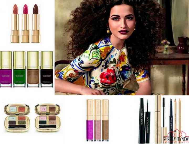 Colecția de machiaj Dolce & Gabbana Wild About toamna 2016