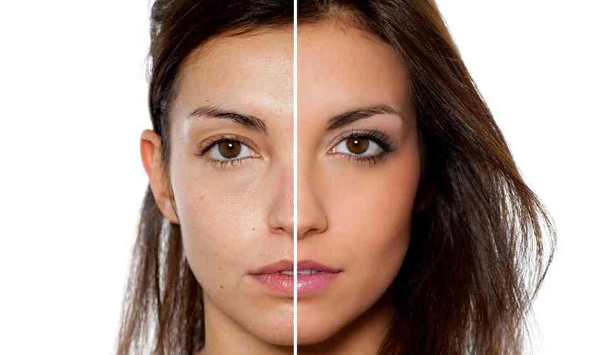 machiaj piele cu acnee