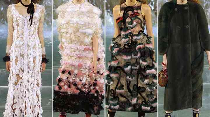 Colecția Fendi Couture pentru toamna / iarna 2016-2017