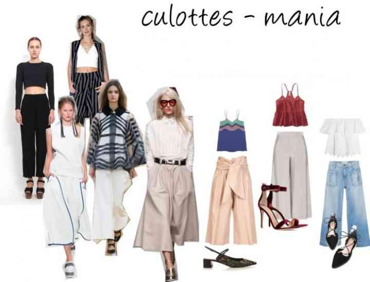 Pantalonii culottes: cum îi purtăm vara?