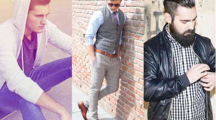 Trei stiluri de modă pentru bărbați