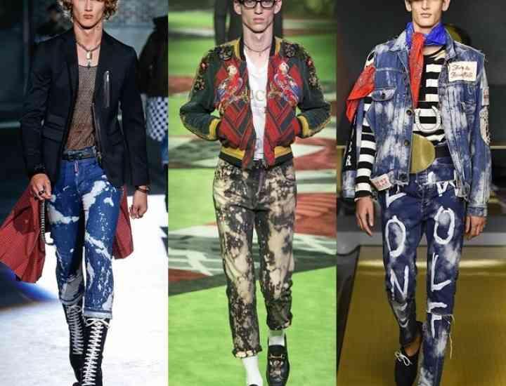 Tendințe modă masculină primăvară/vară 2017