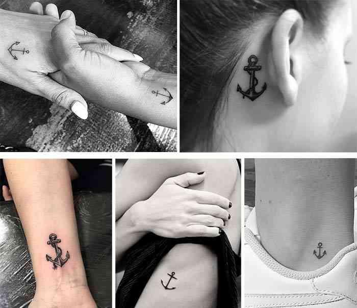 Tatuaje ancora