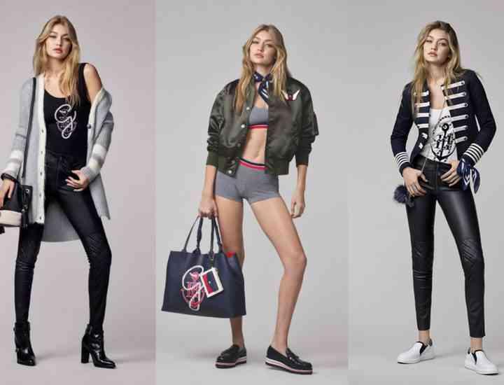 Colecția Gigi Hadid x Tommy Hilfiger pentru toamna 2016