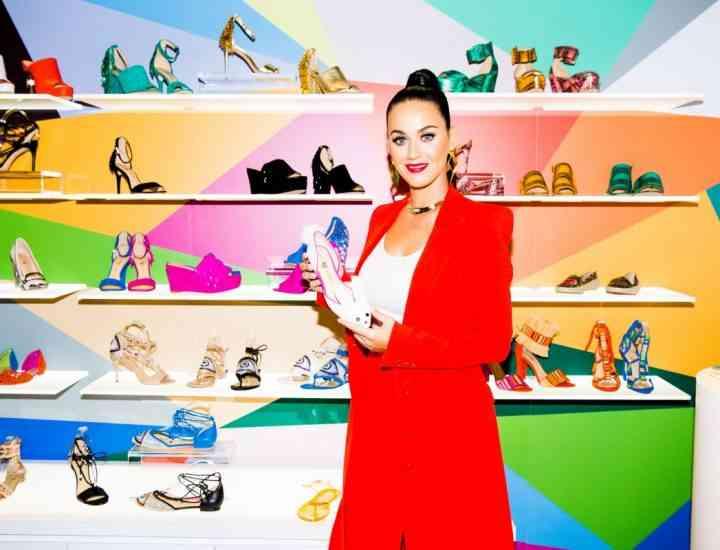 Katy Perry lansează propria linie de încălțăminte