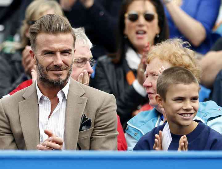 Trucurile lui David Beckham pentru un costum impecabil