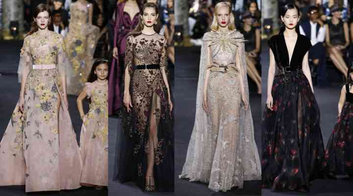 Haute Couture toamnă/iarnă 2016/17: Elie Saab, Armani