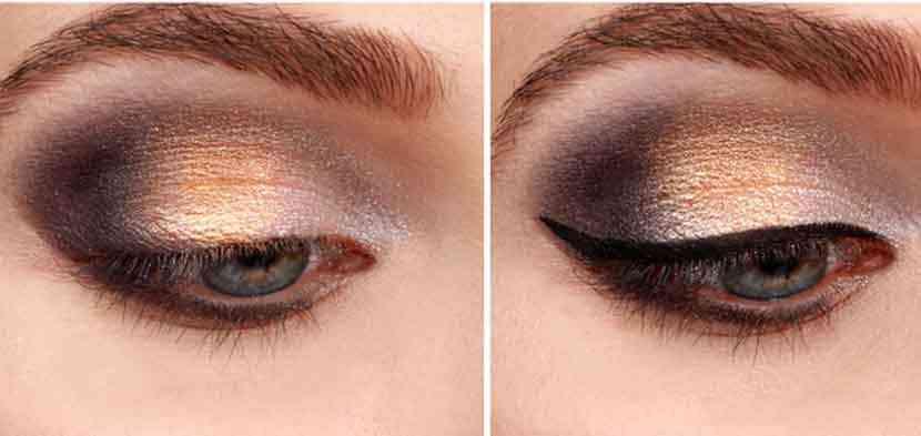fard ochi metalizat