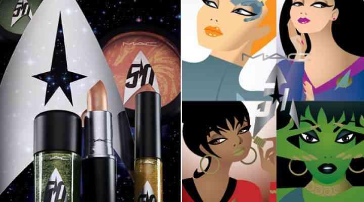 Colecția de machiaj MAC Star Trek pentru toamna 2016