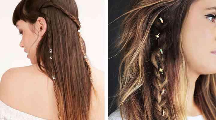 Bijuterii și inele în păr, o tendință ce trebuie urmată