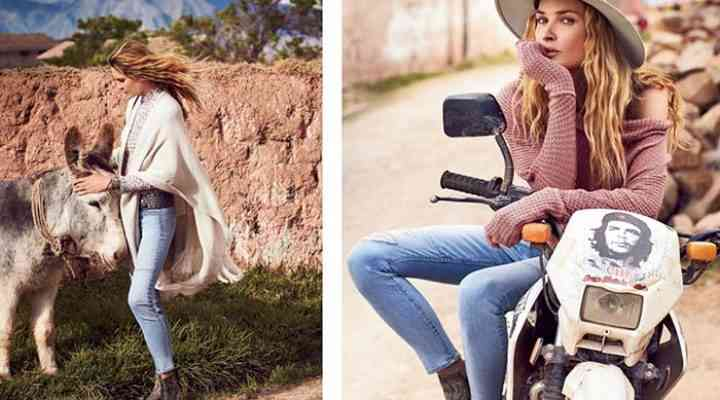 Linia Free People august 2016 infuzată cu un vibe hippy