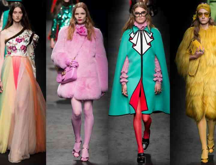 Colecția Gucci iarna 2017