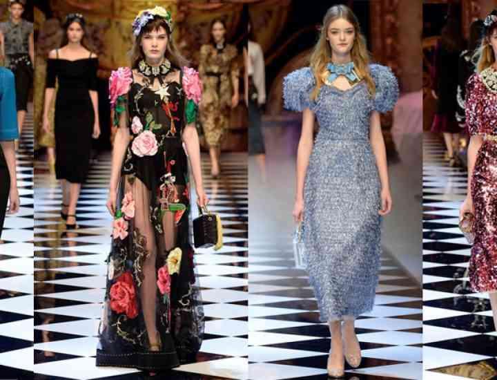 Colecția Dolce & Gabbana pentru toamna-iarna 2016/2017