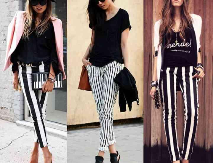 Pantalonii în dungi – cum îi porți să arăți perfect