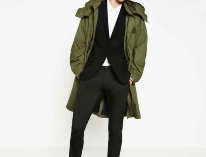 Tendințe masculine Zara pentru toamnă/iarnă 2016/2017