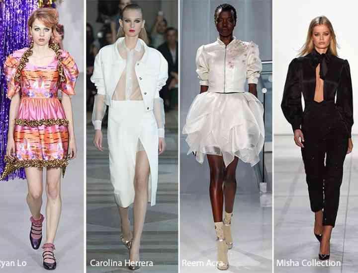 Săptămâna modei de la New York: tendințe cheie primăvară / vară 2017