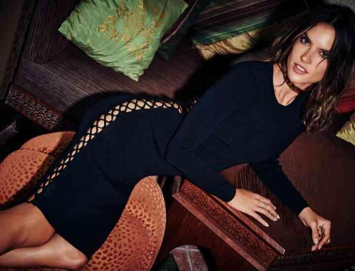 Alessandra Ambrosio x Revolve lansează o linie de îmbrăcăminte de sărbători