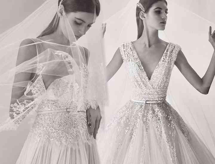 Colecția de rochii de mireasă Elie Saab pentru toamna 2017