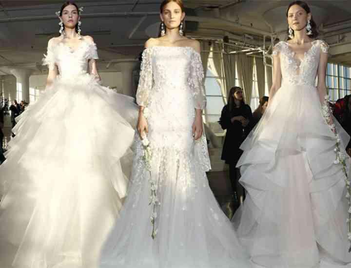 Colecția de rochii de mireasă Marchesa pentru toamna 2017