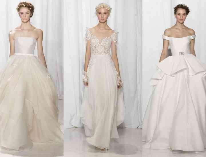 Colecția de rochii de mireasă Reem Acra pentru toamna 2017