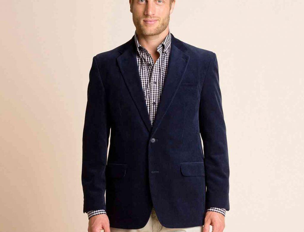 blazer-albastru-catifea-reiata