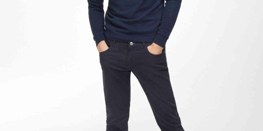 pantalon-albastru-catifea-reiata