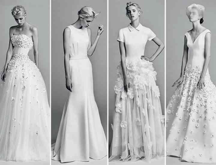 Colecția de rochii de mireasă Viktor & Rolf pentru toamna 2017