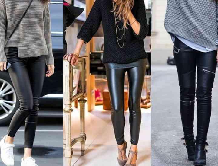 Trend alert: pantalonii de piele