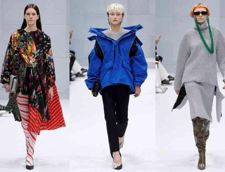 Balenciaga: colecția pentru toamna-iarna 2017