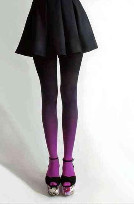 ciorapi-degrade-violet