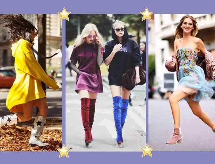 Cum să porți cizme colorate iarna