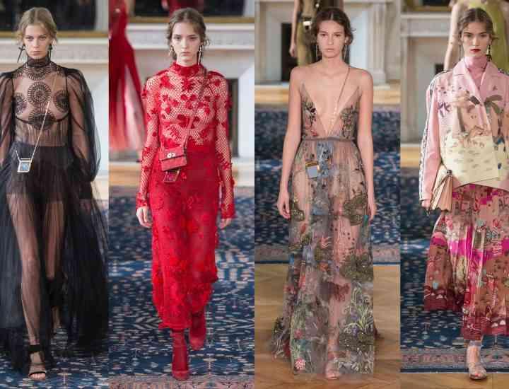 Colecția Valentino pentru primăvara 2017