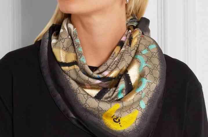 Eșarfe de mătase: Cele mai interesante modele