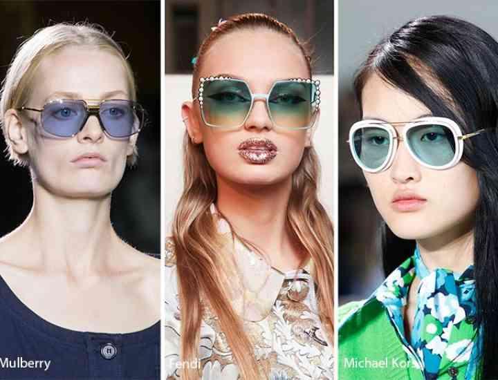 Tendințe de ochelari de soare pentru primăvara / vara 2017