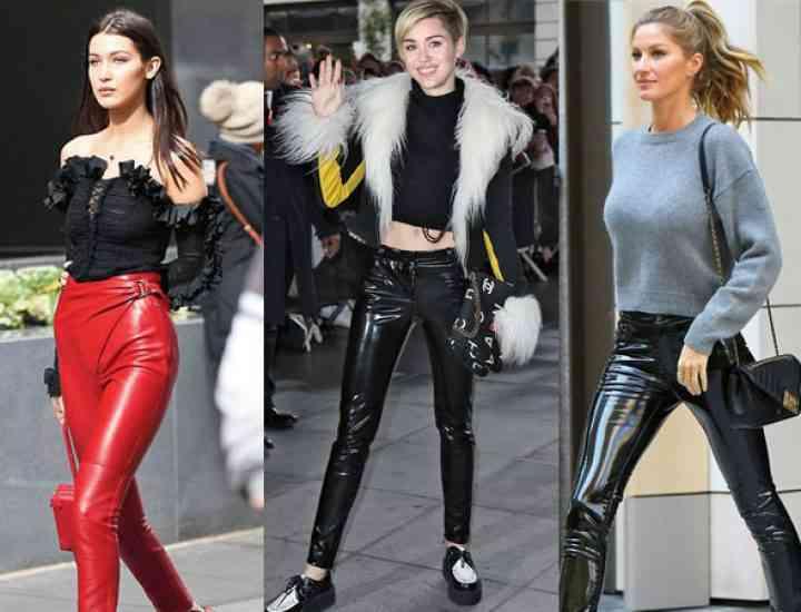 Pantalonii de vinil, noua obsesie pentru anul 2017