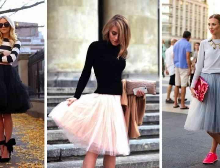 Fusta de tul – piesa care a luat cu asalt lumea modei