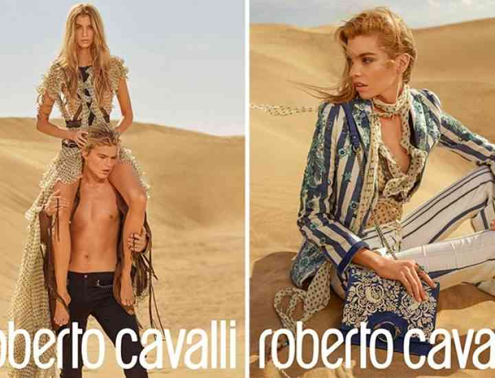 Campania Roberto Cavalli pentru primăvara 2017