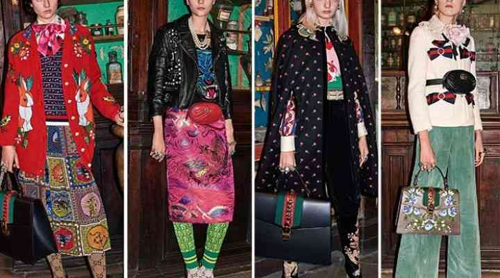 Colecția Gucci pentru pre-toamna 2017