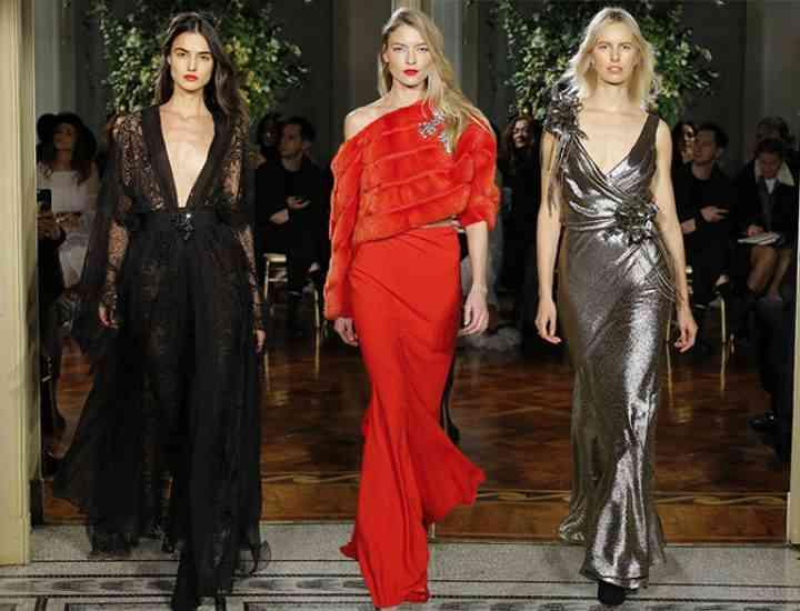 Colecția Alberta Ferretti Couture primăvara / vara 2017