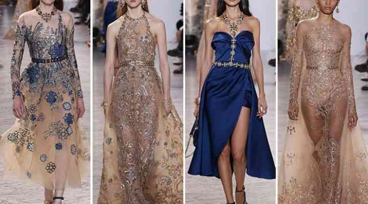 Colecția Elie Saab Couture primăvară / vară 2017