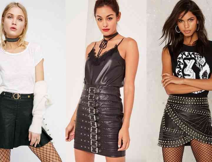 5 modele de fuste de piele la modă acum