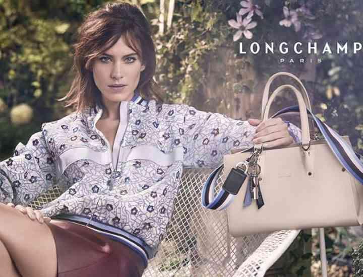 Campania Longchamp x Alexa Chung pentru primăvara 2017