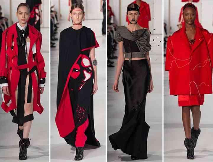Colecția Maison Margiela Couture pentru primăvara / vara 2017