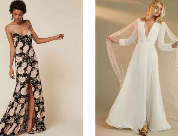 Colecția de rochii de mireasă și petrecere Reformation pentru primăvara 2017