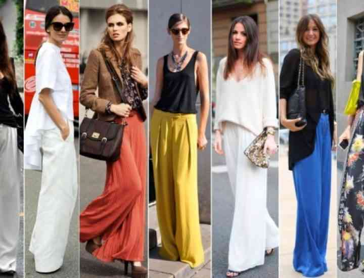 Fusta-pantaloni, din nou la modă
